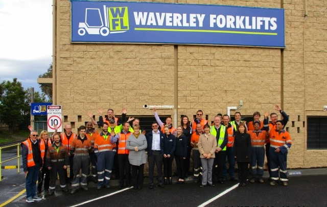 Welcome to the new Waverley Forklifts website